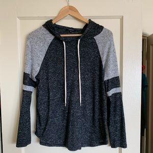 Grey light-weight sweatshirt